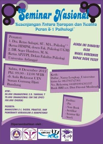 Seminar Nasional Psikologi